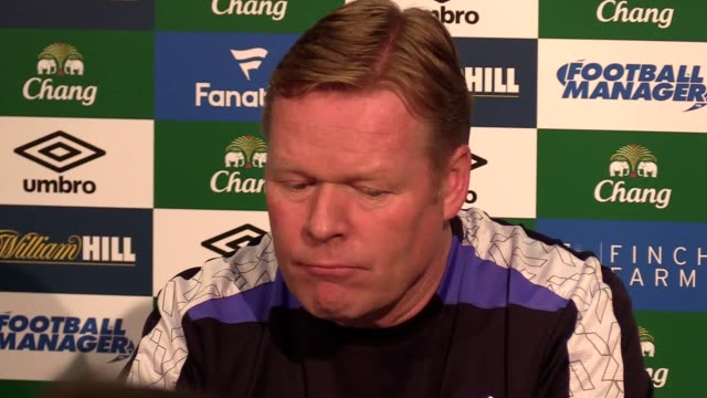 Everton preview press conference with manager Ronald Koeman ahead of their Premier League match against Manchester United