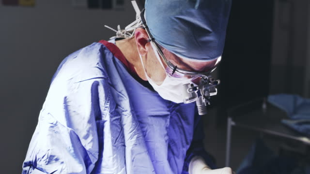every procedure requires lots of focus - surgeon stock videos & royalty-free footage