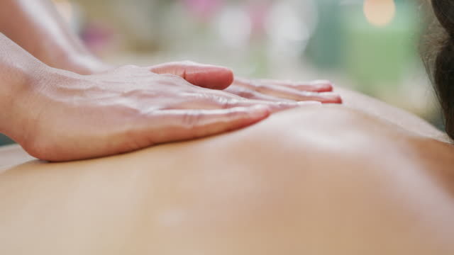every touch relaxes the body - massage stock videos & royalty-free footage