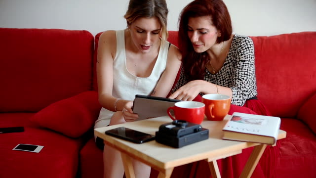 Everyday life at home: female friendship