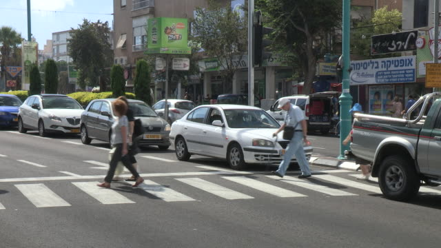 everyday life, haifa, israel - haifa stock videos and b-roll footage
