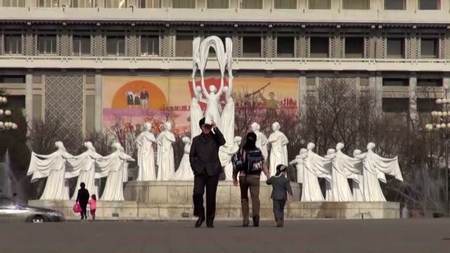 everyday life in pyongyang north korea's capital appears to have returned to normal on april 17 nothing unusual was detected from the expressions and... - 2013年 北朝鮮の核実験点の映像素材/bロール
