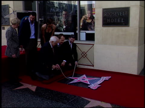 evi quaid at the dediction of randy quaid's walk of fame star at the hollywood walk of fame in hollywood, california on october 7, 2003. - randy quaid stock videos & royalty-free footage