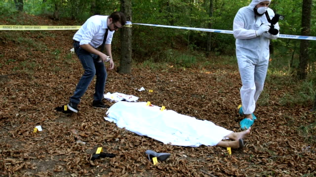 Evidence searching on crime scene