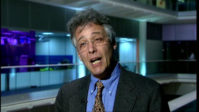 evidence that anti-depressants are overprescribed; london: gir: int professor irving kirsch interview sot - anti depressant stock videos & royalty-free footage