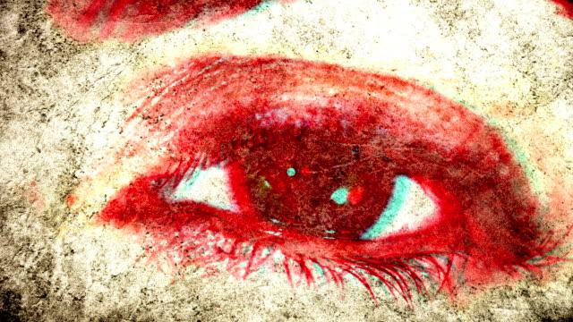 evil eye. hd - dead stock videos & royalty-free footage