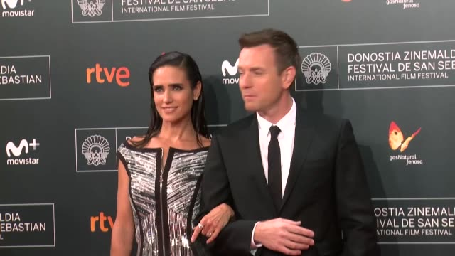 Ewan McGregor and Jennifer Connelly attend 'American Pastoral' premiere during 64th San sebastian Film Festival at Kursaal on September 23 2016 in...