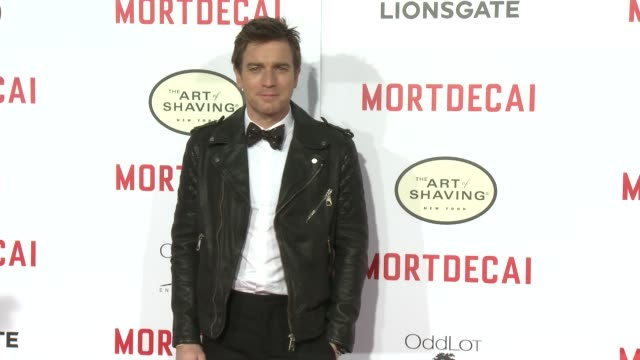 Ewan McGregor at the Mortdecai Los Angeles Premiere at TCL Chinese Theatre on January 21 2015 in Hollywood California