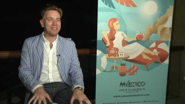 INTERVIEW Ewan McGregor on the Baja Peninsula and why he wants to motorbike through it on his bike of choice on being honored tonight at the Film...