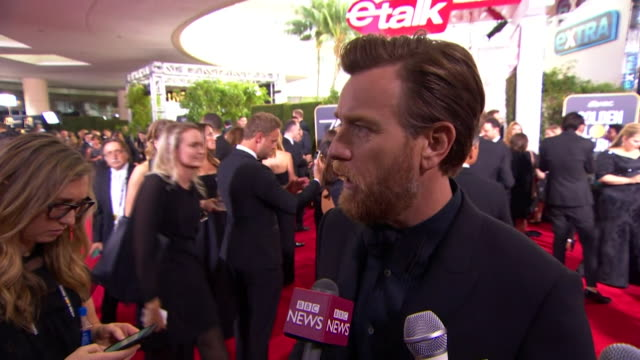 Ewan McGregor saying it is important that people in the film industry don't bully people especially sexually and get away with it