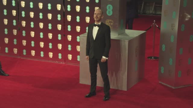 ewen bremner at ee british academy film awards at royal albert hall on february 12 2017 in london england - royal albert hall stock videos and b-roll footage
