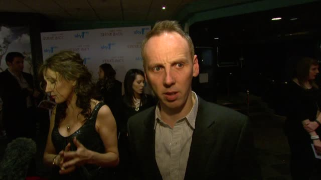ewen bremner on what films he is currently working on at the strike back premiere uk at london england - ewen bremner stock videos & royalty-free footage