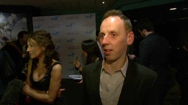 ewen bremner on working an exciting drama that is political and topical at the strike back premiere uk at london england - ewen bremner stock videos & royalty-free footage
