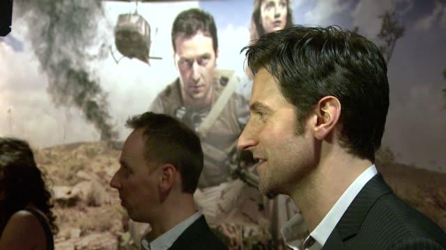 ewen bremner richard armitage at the strike back premiere uk at london england - ewen bremner stock videos & royalty-free footage