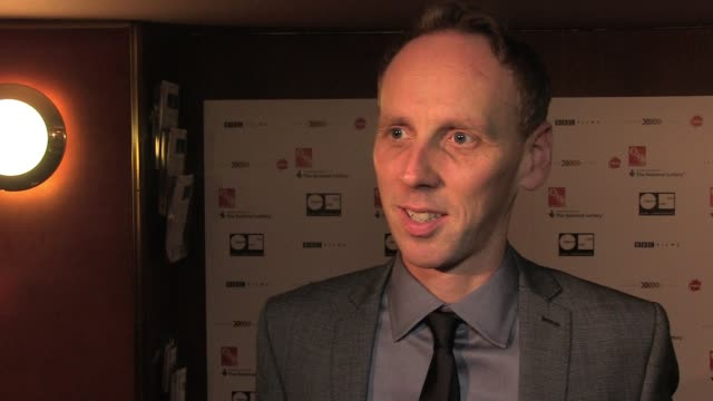 ewen bremner talks of his character in the movie his relationship with ewan and his cooking skills at the uk premiere of perfect sense interview ewen... - ewen bremner stock videos & royalty-free footage