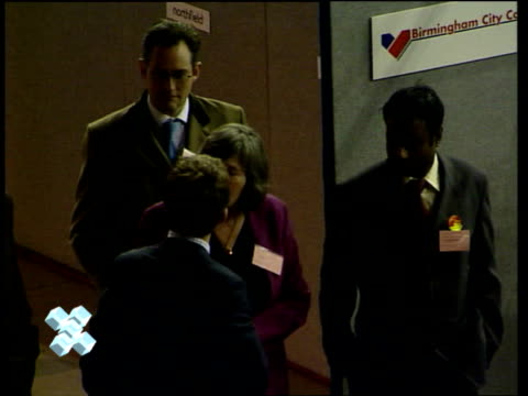 LIVE ex Kirkcaldy Cowdenbeath Chancellor of the Exchequer Gordon Brown arriving with wife Sarah at count 232946 STUDIO Dimbleby with Nick Robinson...