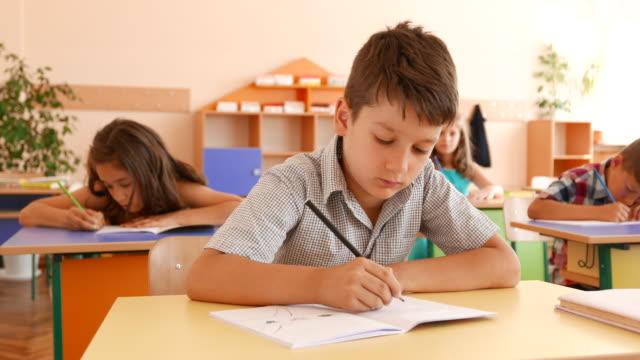 Prüfung im Klassenzimmer
