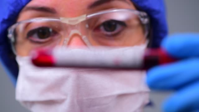 examining coronavirus covid 19 medical samples on kits novel corona virus outbreak - microbiology stock videos & royalty-free footage