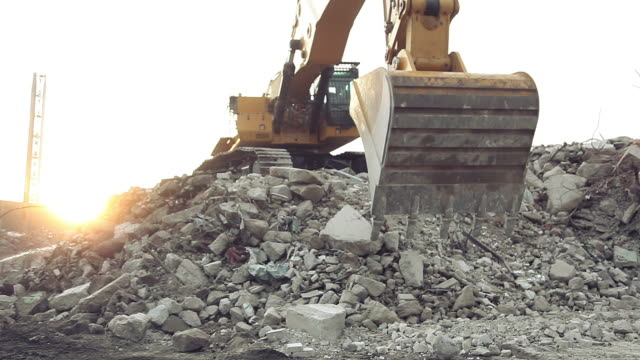 excavator - bulldozer stock videos and b-roll footage