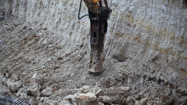 macchina di lavoro - bulldozer video stock e b–roll