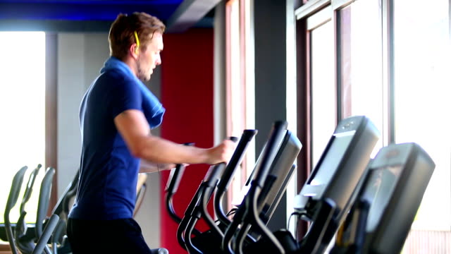 Excercising Gym Health Club Fitness