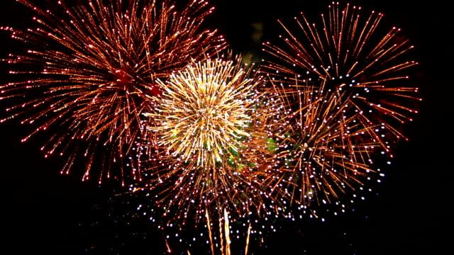 Aufregende Feuerwerk mit Ton