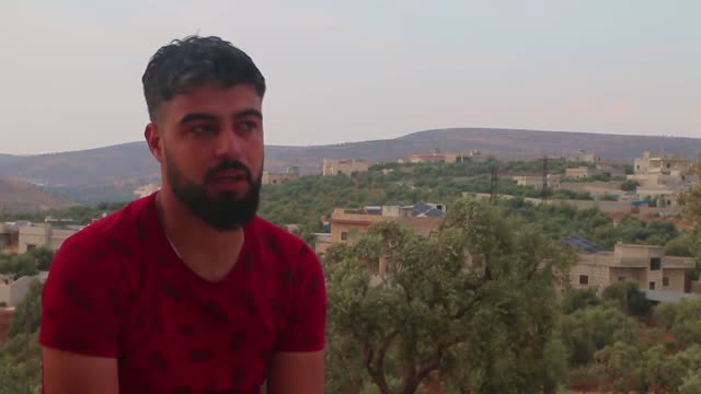 exclusive interview with anadolu agency muhammed abdullah suffering different types of brutal torture that the human mind cannot imagine at the... - 800 meter stock videos & royalty-free footage