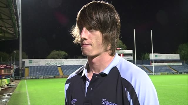 ISNTV exclusive post match interviews with Sale Sharks New Zealand head coach Tony Hanks and try scorer James Gaskell Sale Sharks Post 3029 London...