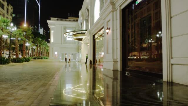 vídeos de stock, filmes e b-roll de exclusive shops in vicom building on le thanh ton - exclusivo