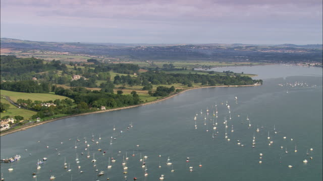 exe estuary - devon stock videos and b-roll footage