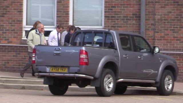 exeastenders actor joseph shade of cliff road sheringham norfolk leaves norwich crown court after receiving a suspended sentence of eighteen months... - イーストエンダーズ点の映像素材/bロール