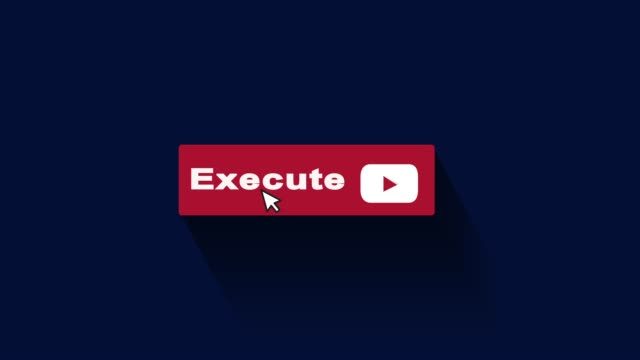 execute button motion graphic and animation - executioner stock videos & royalty-free footage
