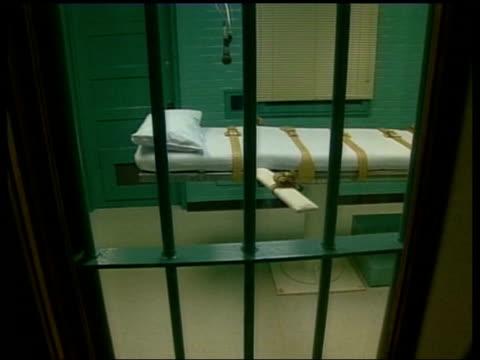 vidéos et rushes de execution chamber in prison - execution