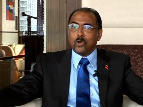 executive director michel sidibe spoke out against travel restrictions for hiv-positive people, at an international conference of lawmakers in... - executive director stock videos & royalty-free footage