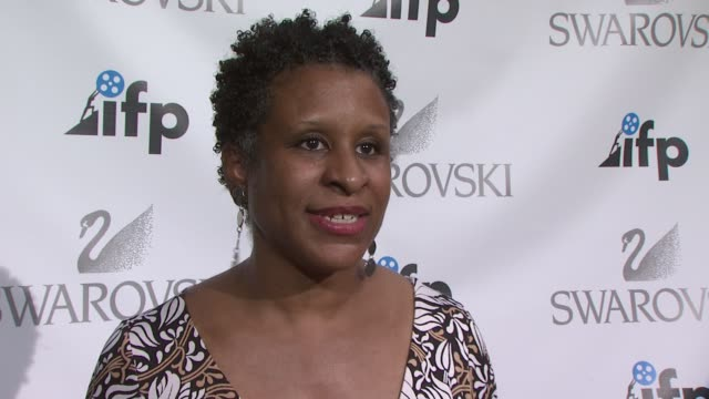executive director of ifp, michelle byrd on the event, what the ifp is all about. she talks about how the organization helps filmmakers, and the... - executive director stock videos & royalty-free footage
