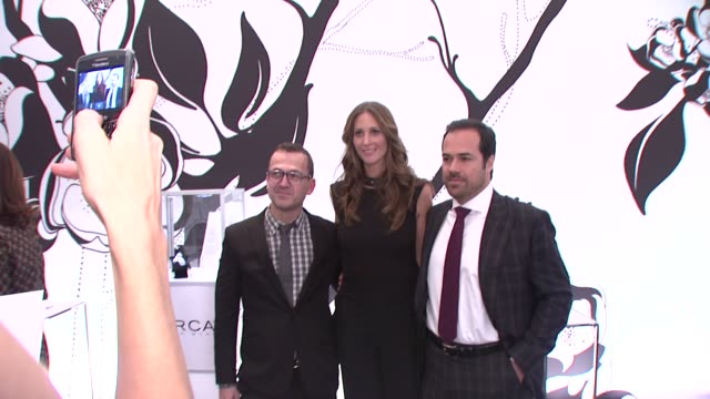 cfda executive director steven kolb lincoln center's director of fashion week stephanie winston wolkoff and chris del gatto chairman and ceo circa at... - executive director stock videos & royalty-free footage