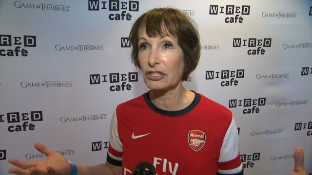 INTERVIEW Executive Producer Gale Anne Hurd on ComicCon and The Walking Dead WIRED Cafe @ ComicCon Day One at Omni Hotel on July 24 2014 in San Diego...