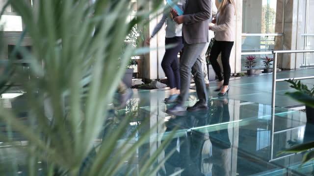executives - lobby stock videos & royalty-free footage