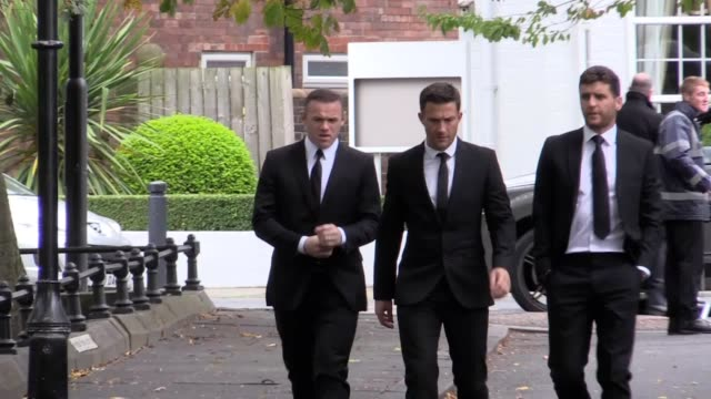 ExEngland captains Wayne Rooney and Alan Shearer were among football's great and good at the funeral of former Newcastle United chairman Freddy...