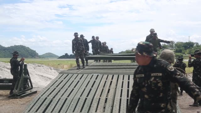 exercise balikatan at colonel ernesto ravina air base, philippines. exercise balikatan, in its 34th iteration, is an annual u.s. - philippine... - temporary stock videos & royalty-free footage