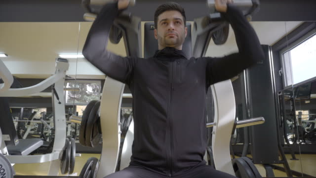 exercise of the day - exercise machine stock videos & royalty-free footage