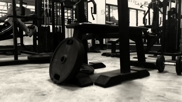exercise room. - exercise room stock videos & royalty-free footage