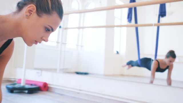 exercising air ballet. - ballet dancer stock videos & royalty-free footage