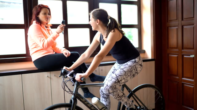 exercising at home - continuity stock videos & royalty-free footage