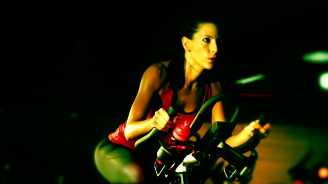 exercising bike - human limb stock videos & royalty-free footage
