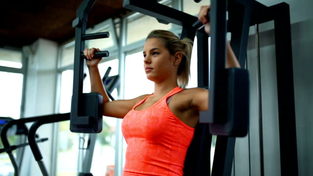 exercising in a gym. - body building stock videos & royalty-free footage