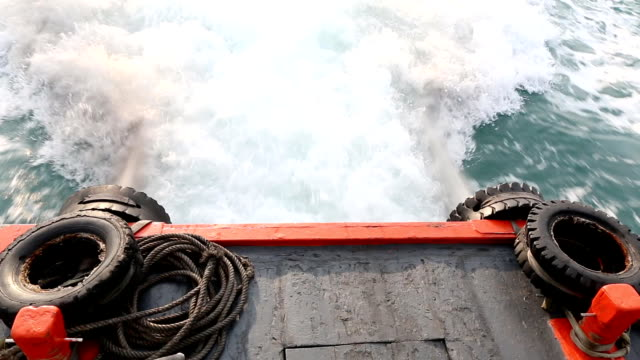 Exhaust fumes of engines ship