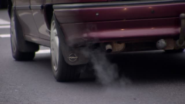exhaust pipe fumes - car stock videos & royalty-free footage