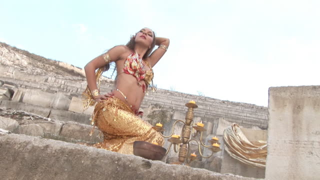 exotic dance in the ancient quarries
