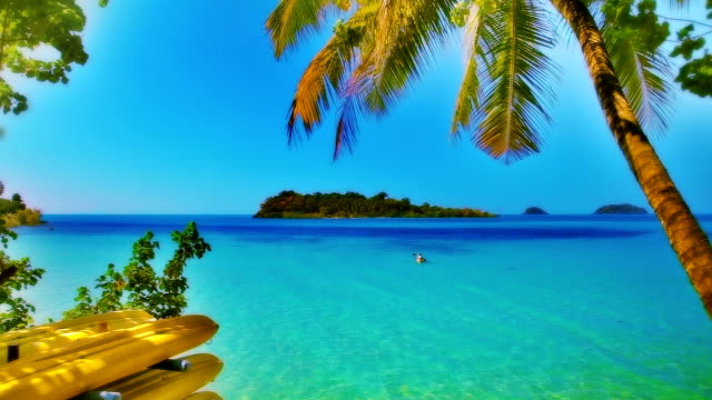 exotic sea - caribbean sea stock videos & royalty-free footage